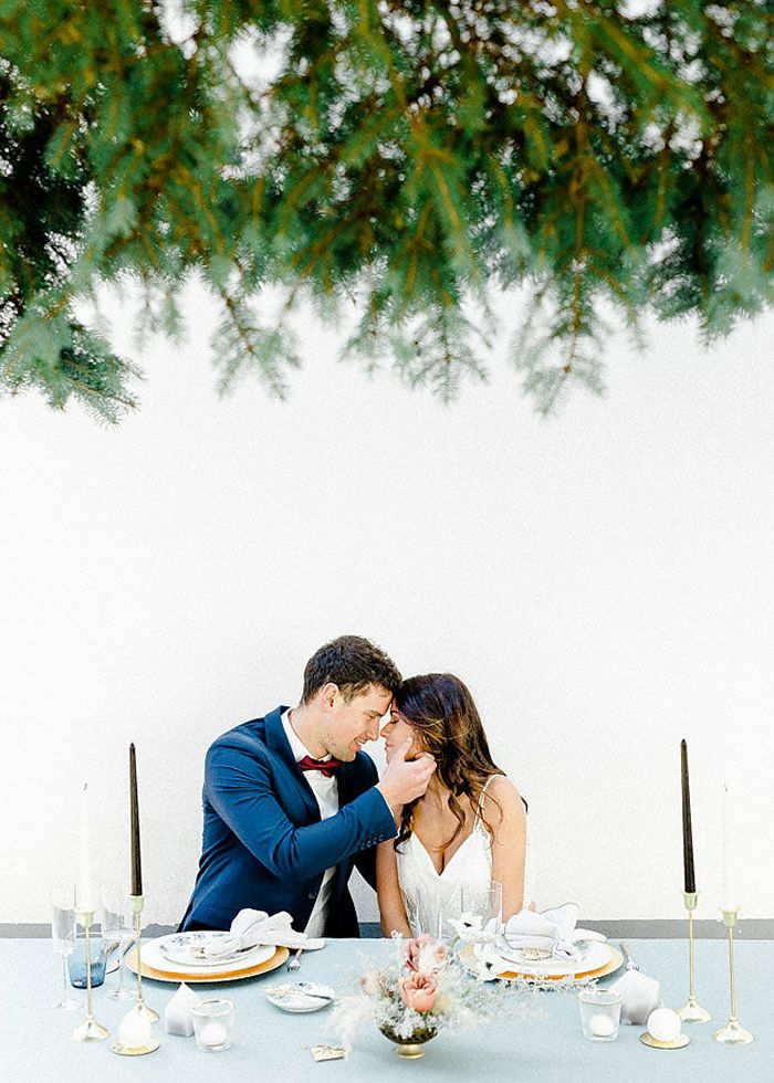 Intimate and Cozy Winter Wedding in Portugal https://heyweddinglady.com/intimate-cozy-winter-wedding-portugal/ #wedding #weddings #weddinginspiration #bluewedding #winterwedding #portugal #weddingreception