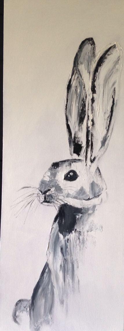 Hop Along- oil on canvas
