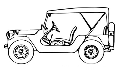 army jeep coloring pages | 17 Best images about Military Vehicles Coloring Pages on ...