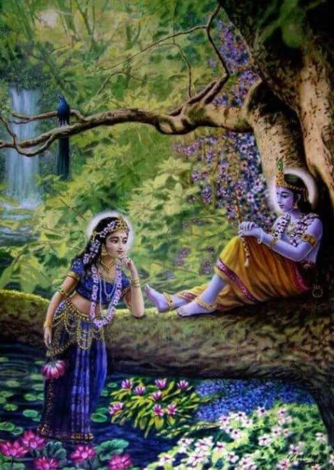 Radha and Krishna  THERE EXISTANCE WOULD HAVE PREVENTED JESUS 5 FROM BEING POWERFUL, MAGICAL AND BIG AND GOD. NO MAGIC FOR JESUS 5. SINCE THEIR MARRIAGE. NO CLOANING.