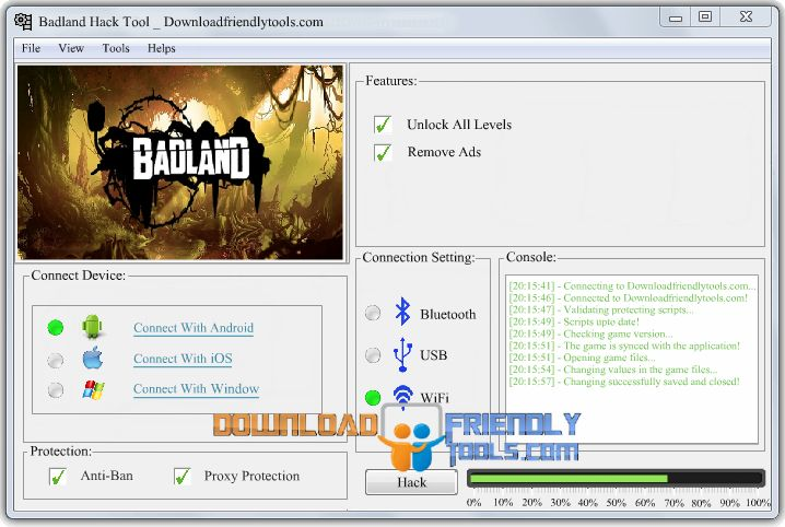Badland Hack Tool 2016 No Survey Android-iOS Free Download http://www.downloadfriendlytools.com/badland-hack-tool-2016-no-survey-android-ios/