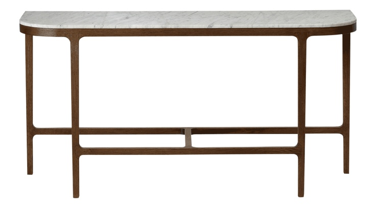 I have an unhealthy obsession with marble-top tables. Conran Shop - Victoria Marble Console Table