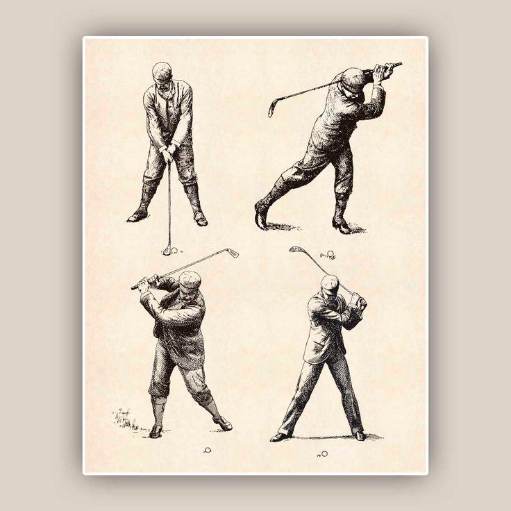251 best Drawings Golf images on Pinterest | Golf art, Poster ...