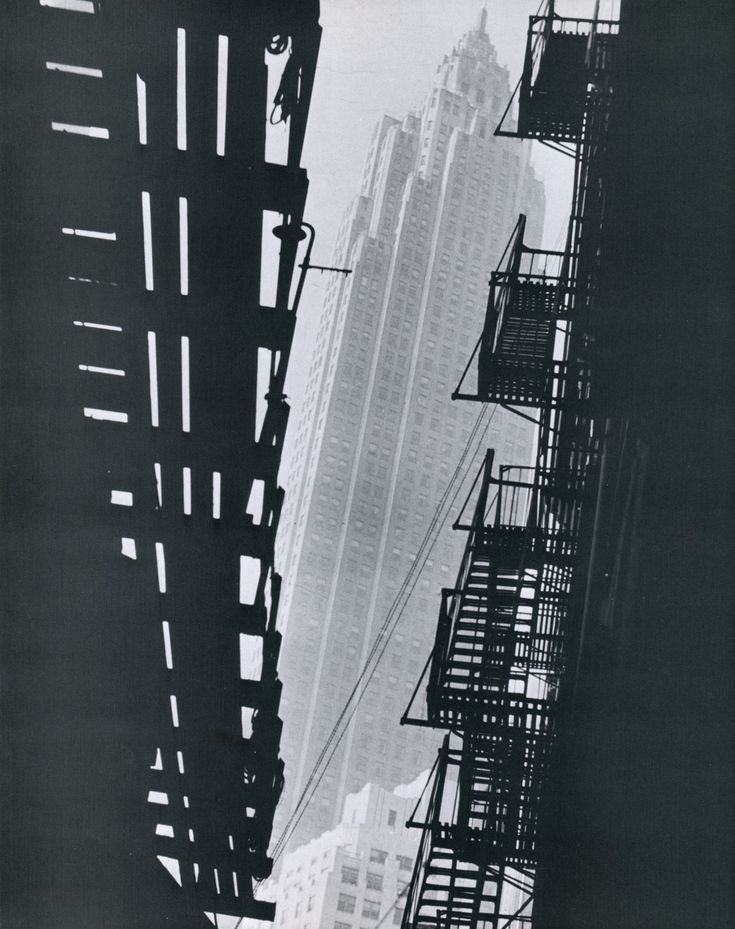 Fire Escape New York City 1940s : Best images about fire escape stairs on pinterest