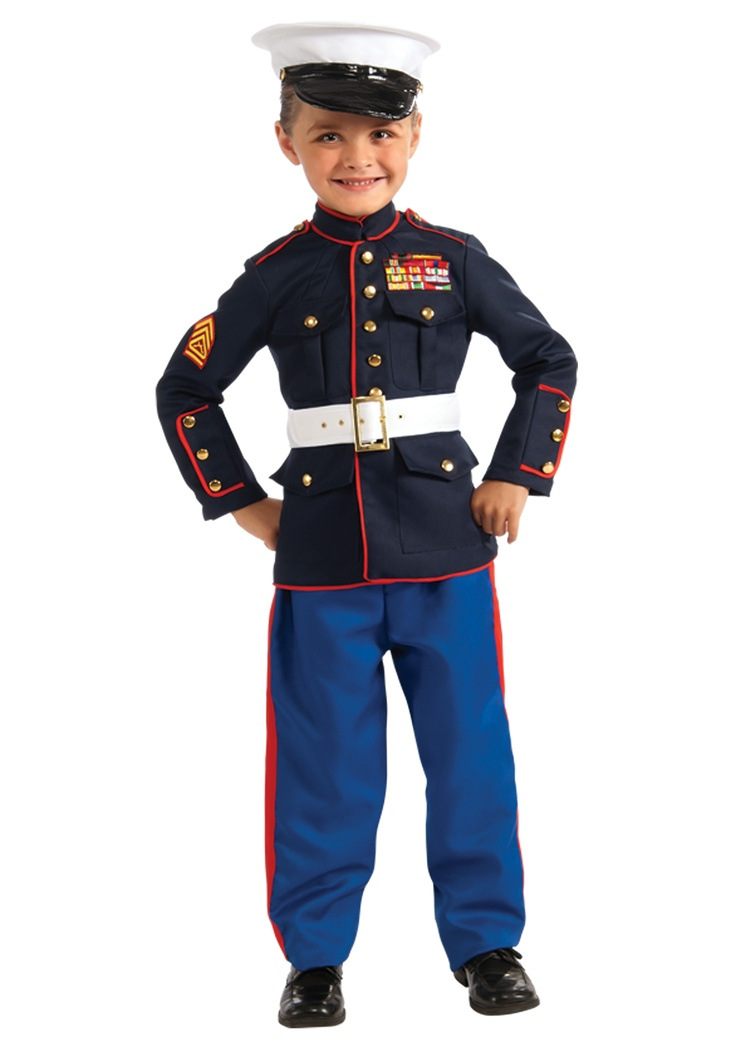 Child Marine Uniform Costume..how precious