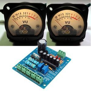 2pcs-500-A-VU-Meter-Panel-Warm-Light-Recording-amp-Audio-Level-Amp-Driver-Module
