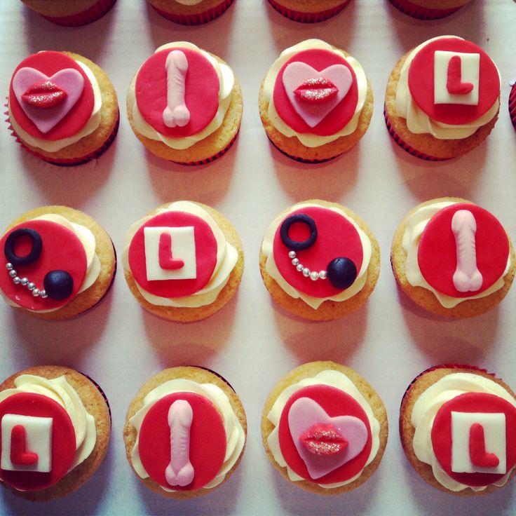 Cheeky Hen Do cupcakes!