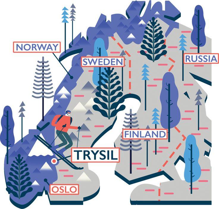Illustrated Maps - Owen Davey Illustration