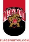 Applique - University of Maryland Garden Flag