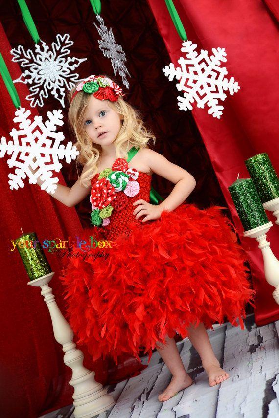 Her tutu's are awesome!  Fabulous feather skirt tutu dress.