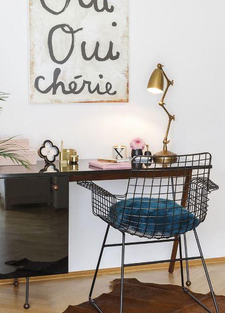 »Home Office Chic« |  Nicht nur in hippen Design-Agenturen lässt es sich chic arbeiten, das geht auch zuhause.