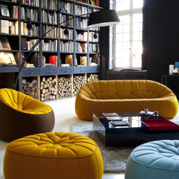 Sofa, Lounge Chair, Pouf Ottoman Canape Interieur_cinna_mobilier Design Noe