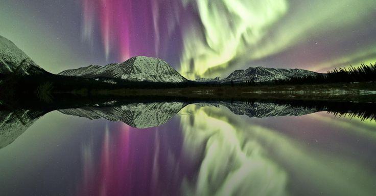 Beautiful Northern Lights display in Canada's Yukon!
