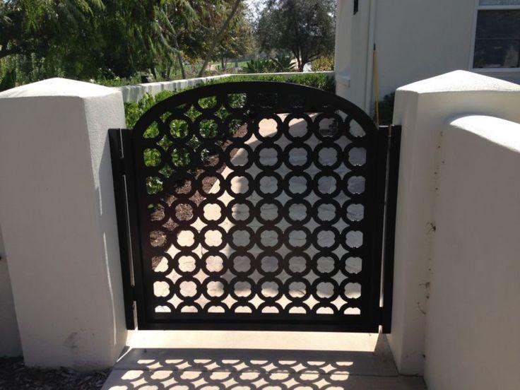 Metal Art Gate Designer Walk Italian Iron Steel Garden Factory Direct Made in US