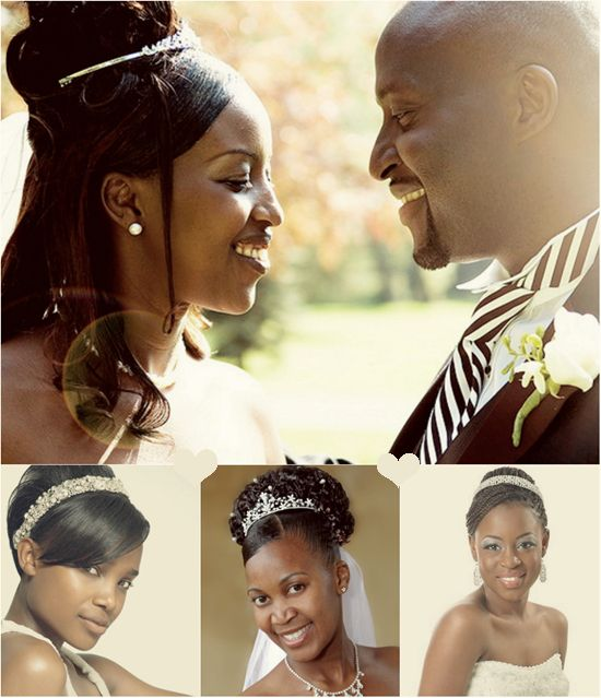 Wedding Hairstyles For Black Women African American: 71 Best Images About Black Women Wedding Hairstyles