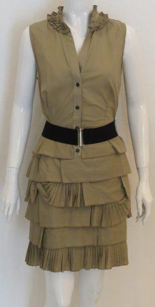 Women fashion: DIY Thermal (Waffle) Ruffle Dress from Recycled Shirts DIY Clothes DIY Refashion DIY Fashion DIY Dress DIY Sew DIY Upcycle
