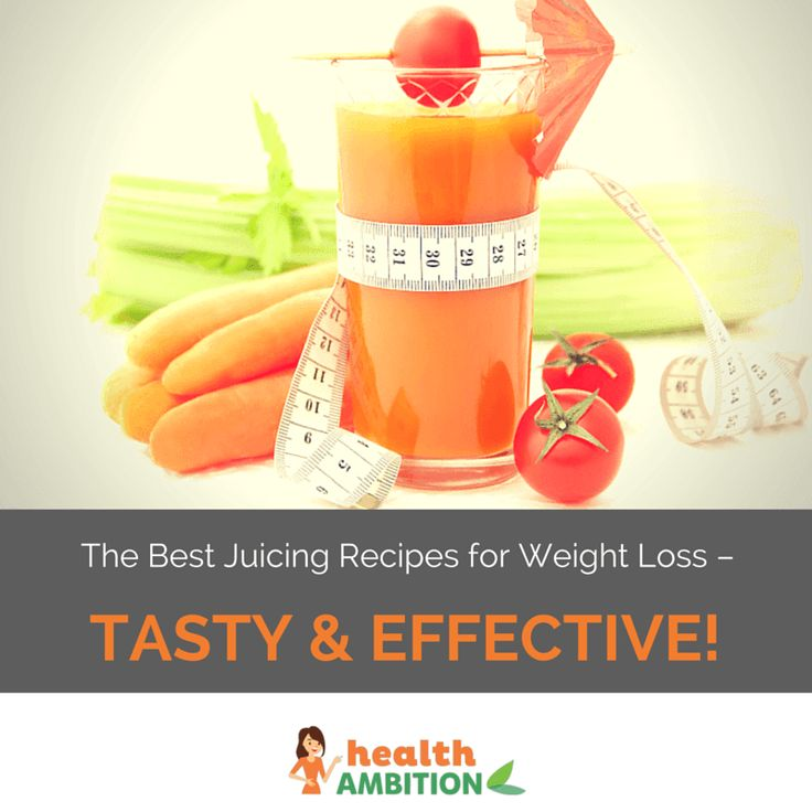 We've put together an amazing selection of juicing recipes for weight loss that ...