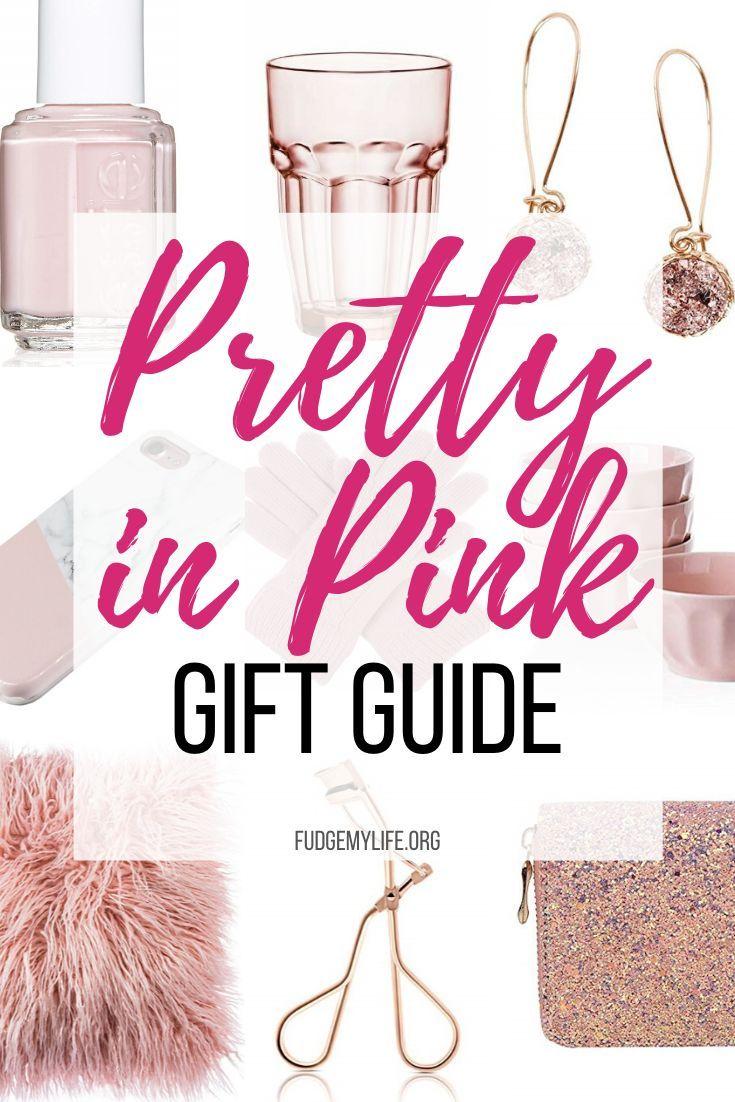 Millenial Christmas Gift Her 2020 20 Millennial Pink Gift Ideas for Every Millennial | FudgeMyLife