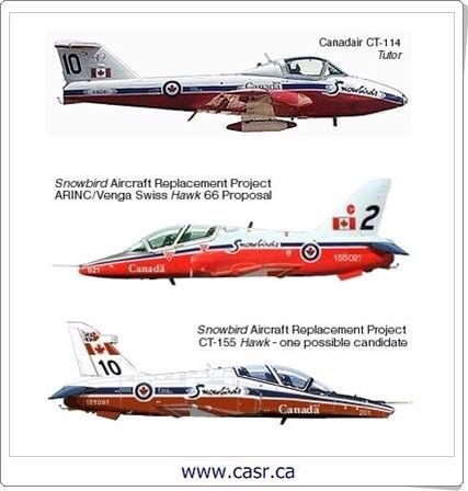 RCAF Royal Canadian Airforce Trainers