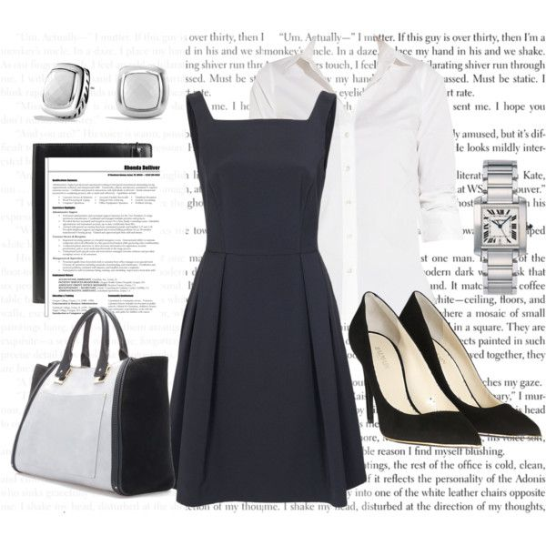 """SIP Interview Outfit - Anastasia Steele"" by bigbadbrookie on Polyvore"