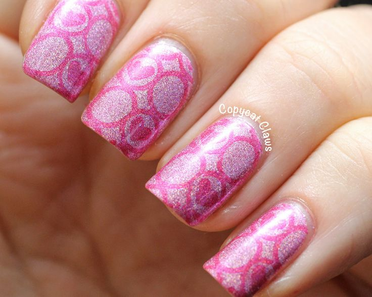Gorgeous Picture Polish stamping from Copycat Claws
