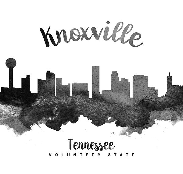 Knoxville Tennessee Skyline 18 by Aged Pixel