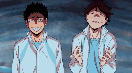 Iwaizumi and Oikawa XD
