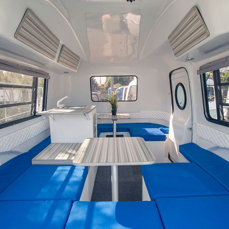 Living in a shoebox | New ultra-light camper trailer with Lego-like modular interior