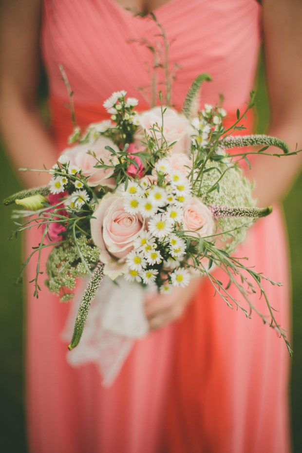 beautiful rustic bridesmaids bouquet | Read more on http://onefabday.com/festival-wedding-images-by-nica/