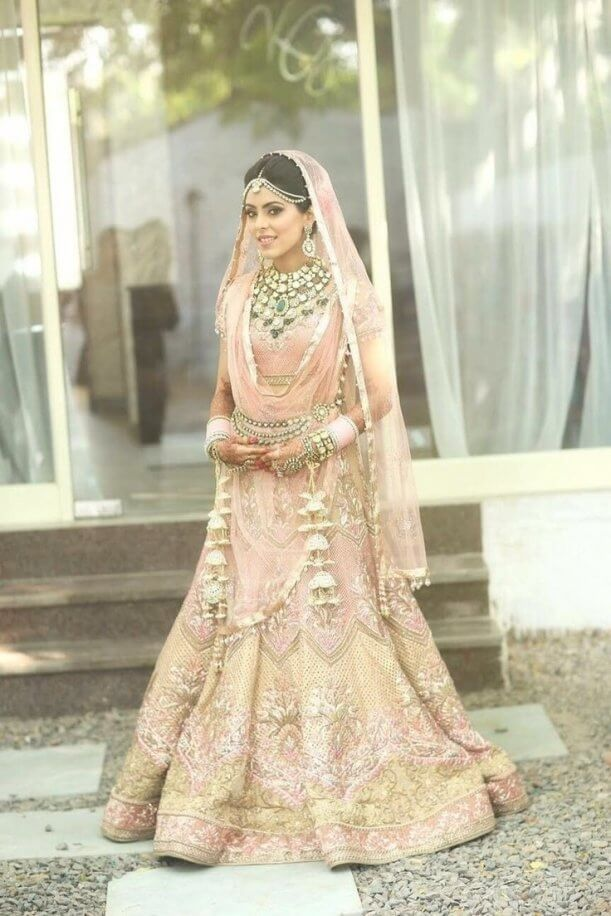 c5e3b8f2dcc 25 Best Indian Bridal Lehenga Ideas On Pinterest Bridal Lehenga Pertaining  To Best 30 White And Gold Indian Wedding Dresses by thisbestidea