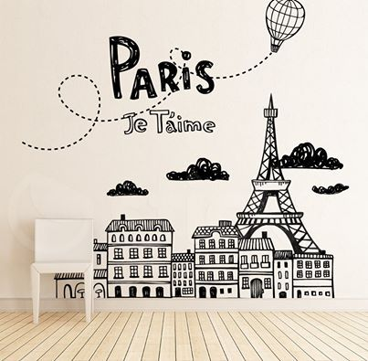 Wall Sticker JE TAIME by Sticky!!!