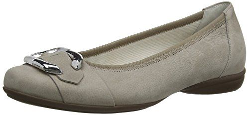 Gabor Shoes 22.620.33 Damen Geschlossene Ballerinas, Grau (visone), 40.5 EU - http://on-line-kaufen.de/gabor/40-5-eu-gabor-shoes-22-620-47-gabor-damen-ballerinas