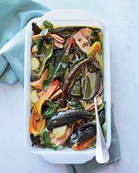 Herb-Marinated Peppers and Tuna Recipe on Food & Wine