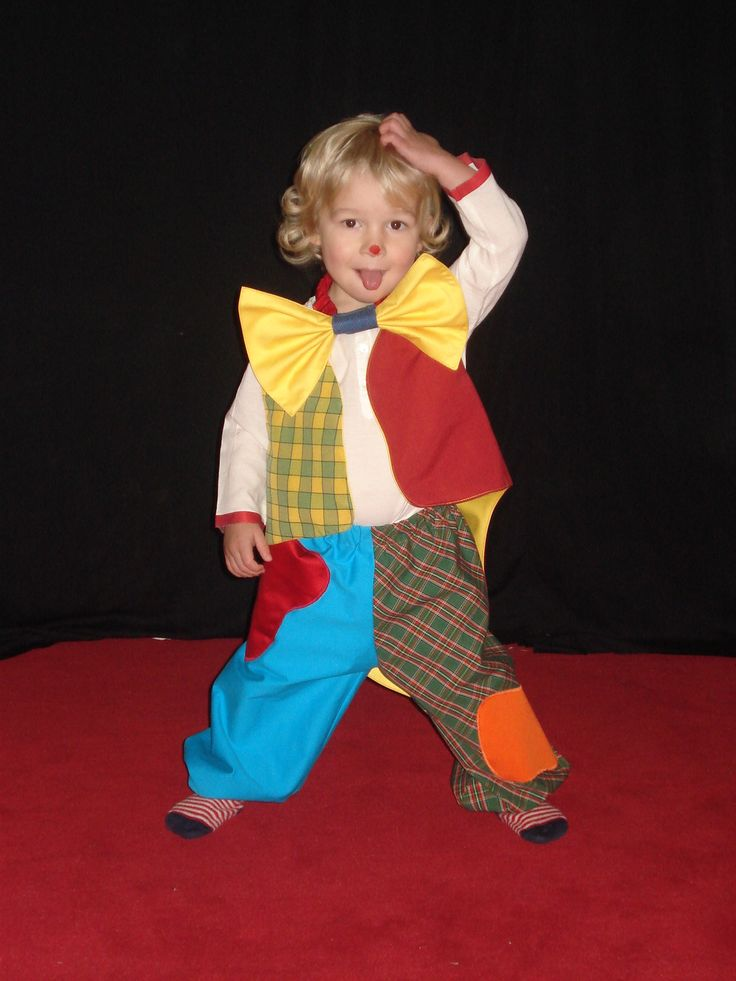 déguisement / costume de clown, taille 3-4 ans : Ecole et loisirs par bobine-de-lutin