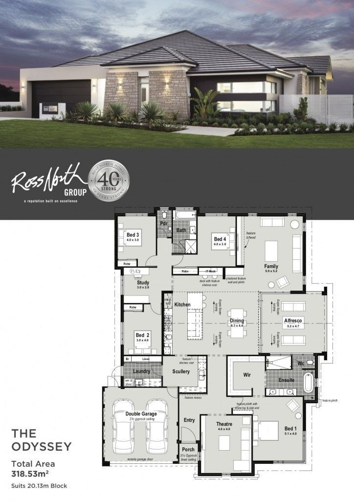 20 Best Modern House Floor Plans Plataran Best In 2020 Beautiful House Plans Single Storey House Plans Contemporary House Plans