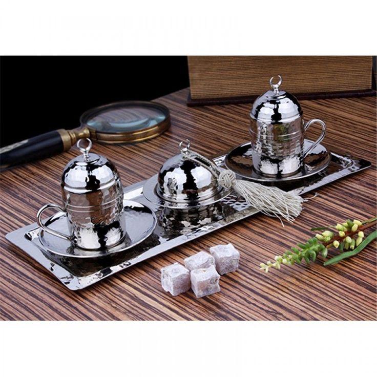 Turkish Coffee Serving Set-Coffee Porcelain Cup&Saucer,Coffee Maker Pot,Coffee  #Handmade