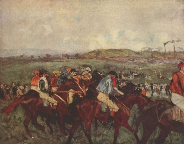 Edgar Degas, Before the Race