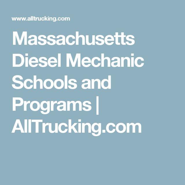 Massachusetts Diesel Mechanic Schools and Programs | AllTrucking.com