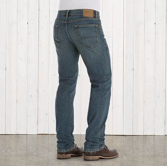 Got hubby to try these and he was quite impressed! Signature by Levi Strauss & Co ™ Classic, Relaxed, Straight, Loose and Bootcut Jeans for Men