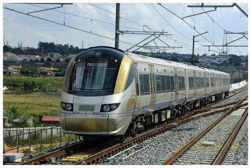 Gautrain - 13 minutes from Johannesburg O.R. Tambo to Sandton...sweet!