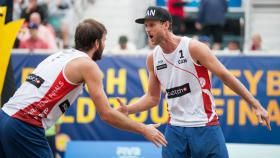 Olympians Ben Saxton and Chaim Schalk have advanced to the semifinals of the…