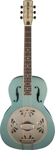 Gretsch G9202 Roots Series Honey Dipper Special Round-Neck Resonator Guitar - Delta Blue Gretsch http://www.amazon.com/dp/B00I5R29FO/ref=cm_sw_r_pi_dp_rZqqvb1SDQ0CR