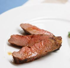 Marinated Lamb Backstrap: Marinated Lamb Backstrap