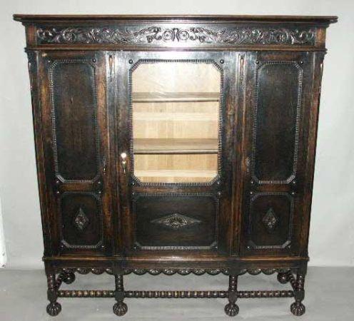 antique china cabinet bookcase ebay