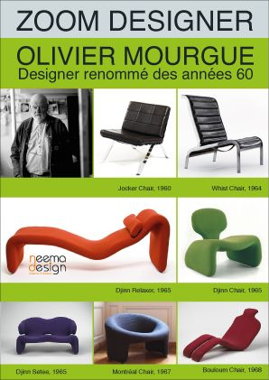 Olivier Mourgue - icons of the 20th Century