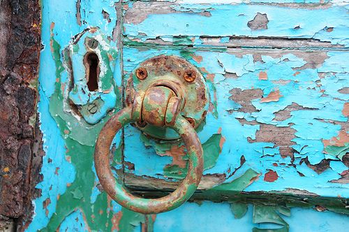 Weathered Door, Bangor
