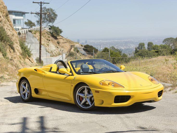 Ferrari 360 Spider US-spec '2000–05