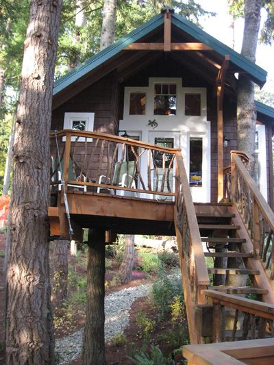 17 Best Ideas About Adult Tree House On Pinterest Tree