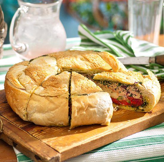 """Хлеб с тунцом """"Пикник"""""""