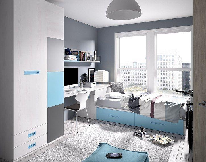Habitaciones juveniles blue habitaci marina en 2019 for Muebles pepe jesus dormitorios juveniles